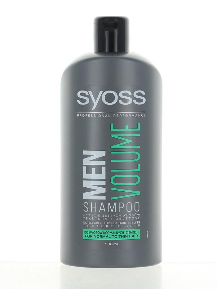 Syoss Sampon 500 ml Men Volume imagine produs