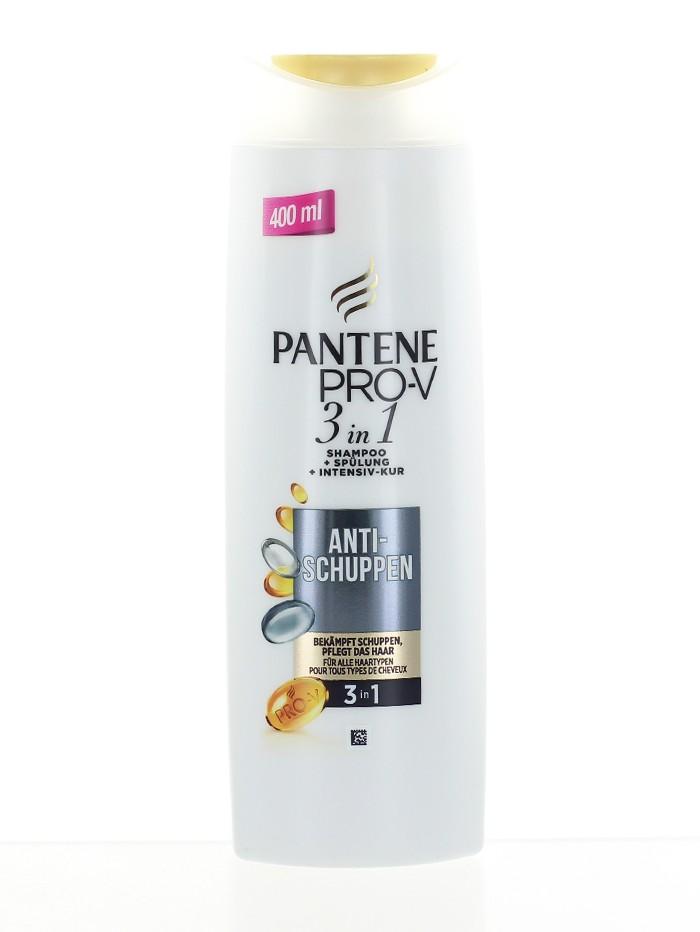 Pantene Sampon 400 ml 3in1 Anti-Schuppen imagine produs