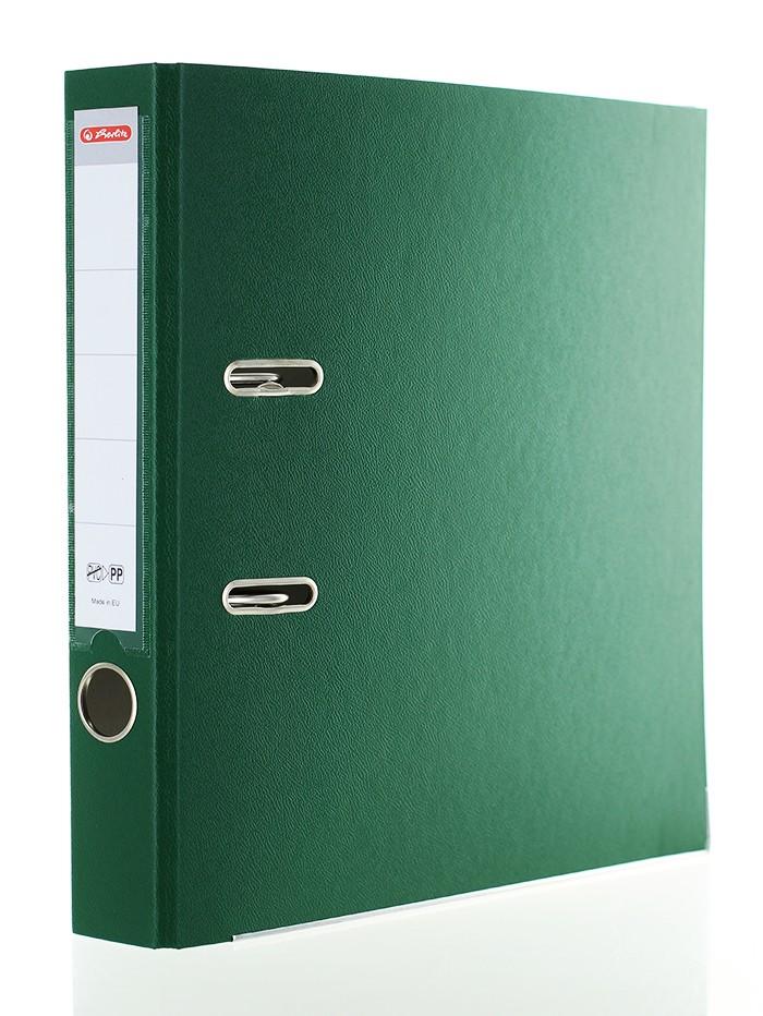 Herlitz Biblioraft A4 5CM 1 buc PP Verde imagine produs