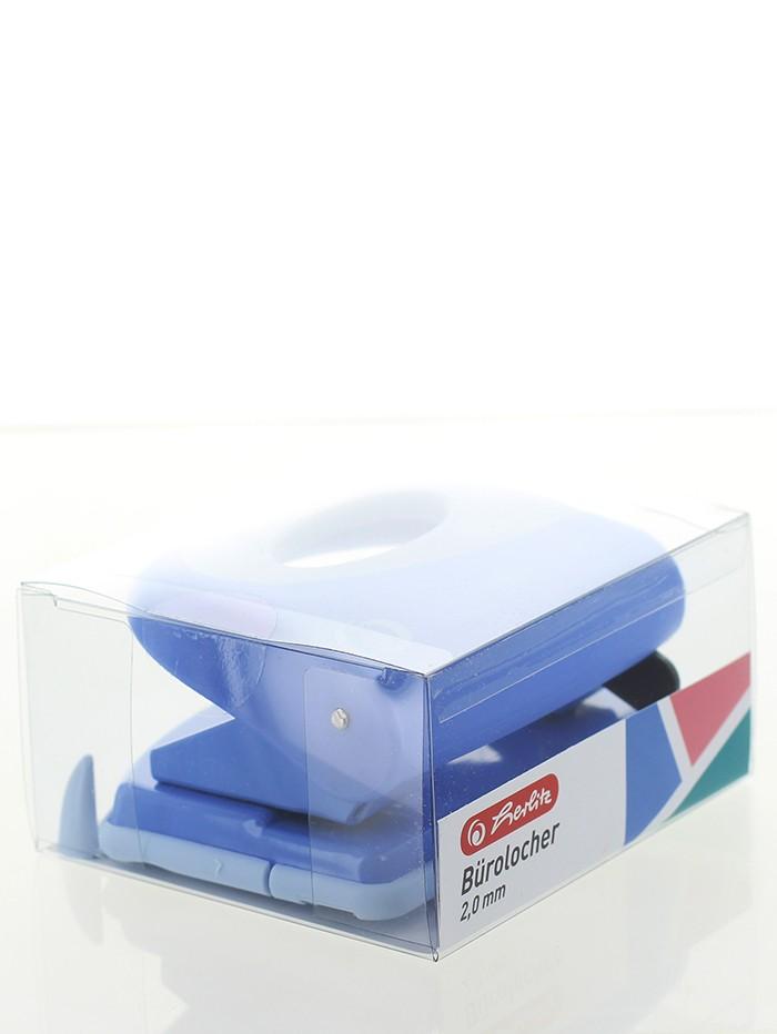 Herlitz Perforator Birou 2.0MM 1 buc Albastru imagine produs