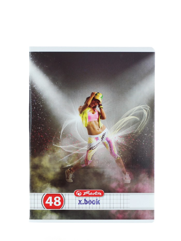 Herlitz Caiet A5 48 File Cod:539 Dance-Patratele imagine produs
