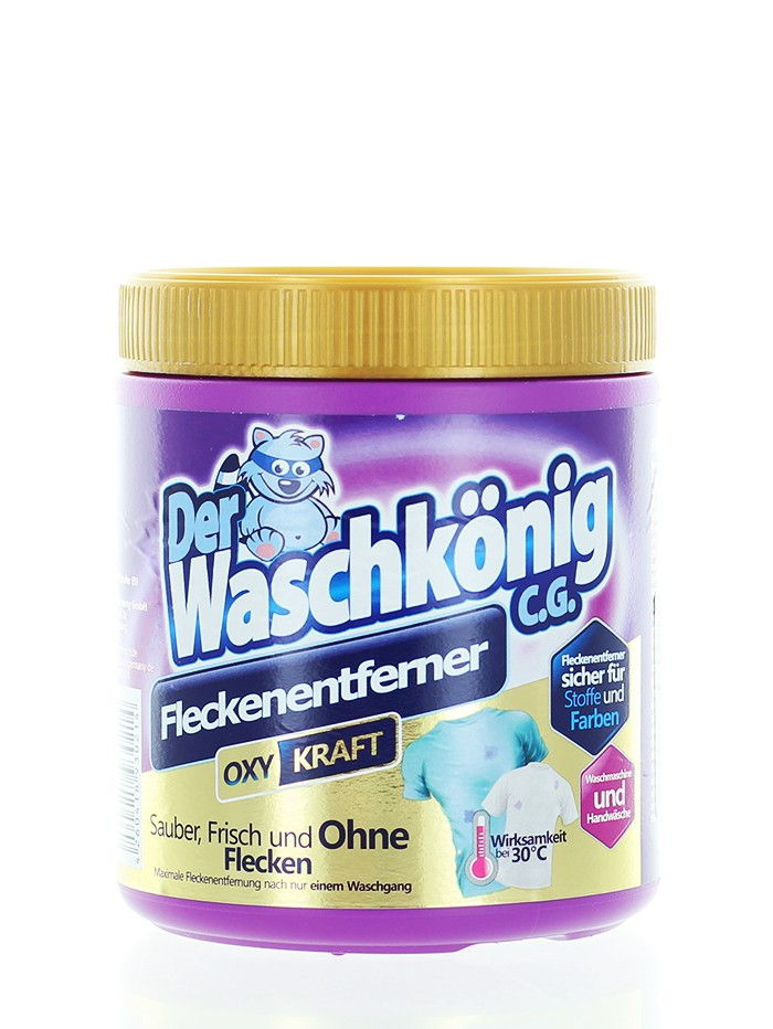 Der Waschkonig Pudra indepartare pete 750 g Oxi Kraft(rufe color) imagine produs