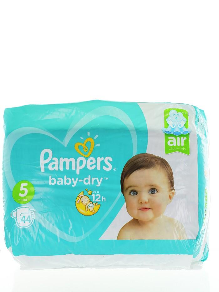 Pampers Scutece nr.5 11-16 kg 44 buc Baby-Dry imagine produs