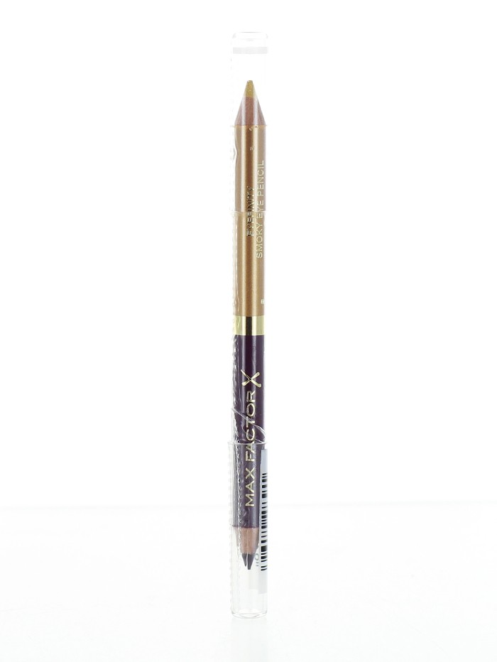 Max Factor Creion Contur Ochi Duo Eyefinity Smoky Royal Violet&Crushed Gold03 imagine produs
