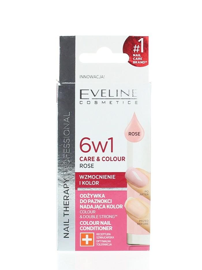 Eveline Tratament Unghii 12 ml Rose 6 in1 imagine produs