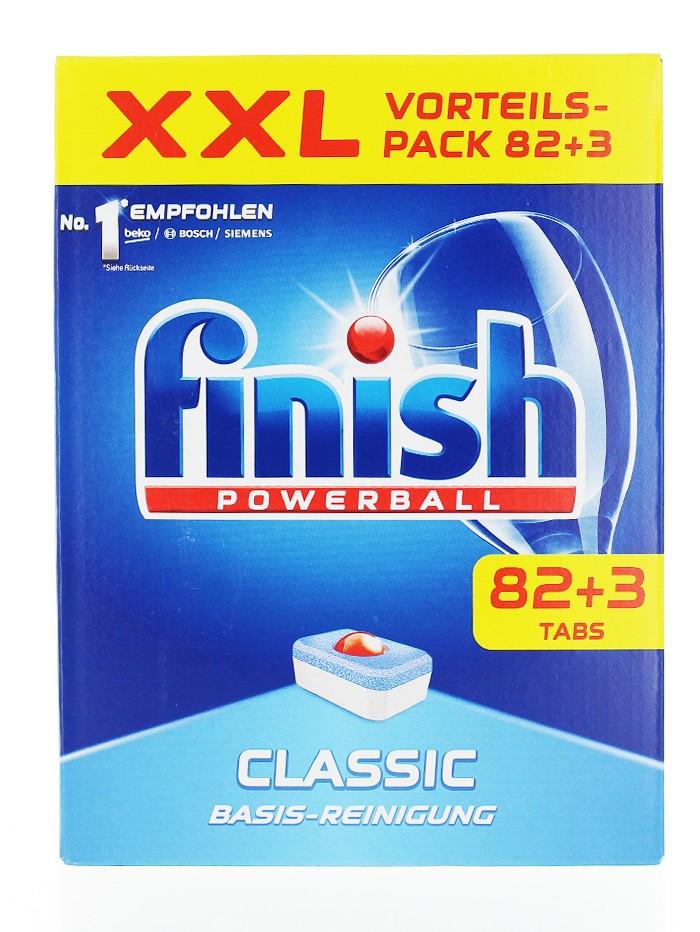 Finish Tablete pentru masina de spalat vase 82+3 buc Classic imagine produs