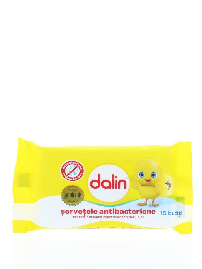 Dalin Servetele umede 15 buc Antibacterian imagine produs