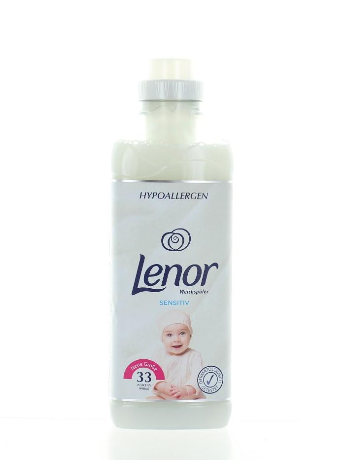 Lenor Balsam de rufe 990 ml 33 spalari Sensitiv imagine produs