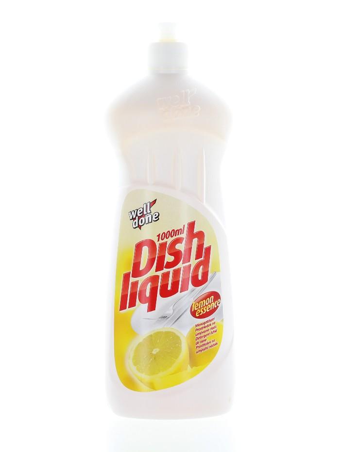 Well Done Detergent pentru vase 1L Lemon Essence imagine produs