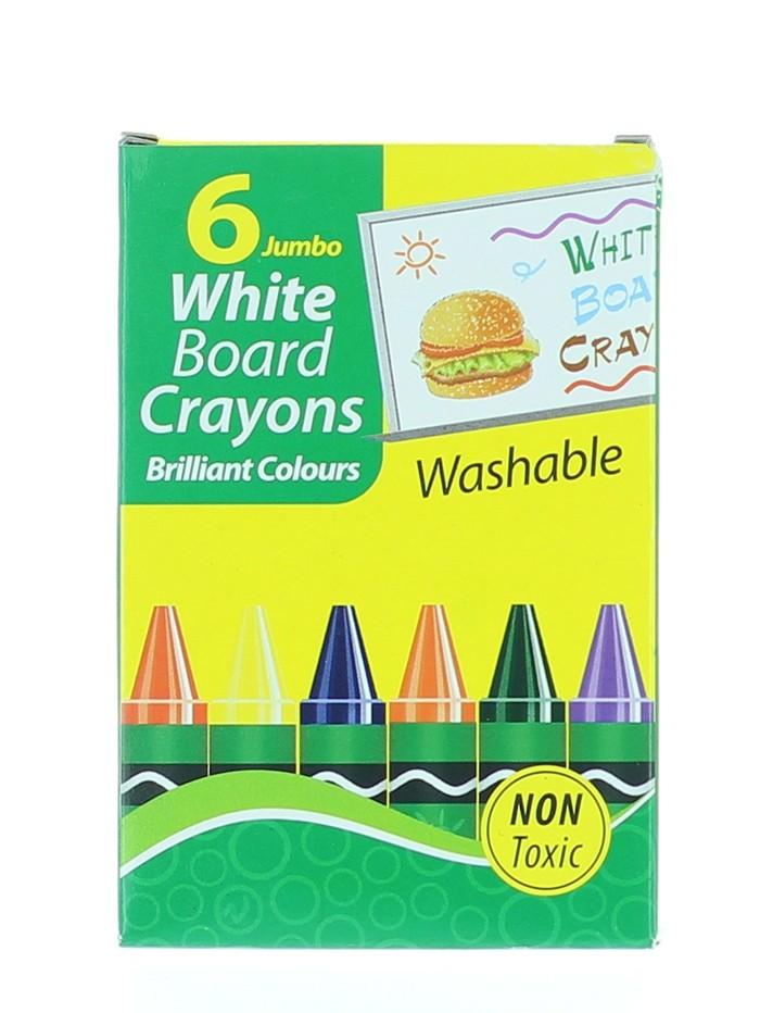 Set 6 Creioane Colorate Pentru Tabla Alba imagine produs