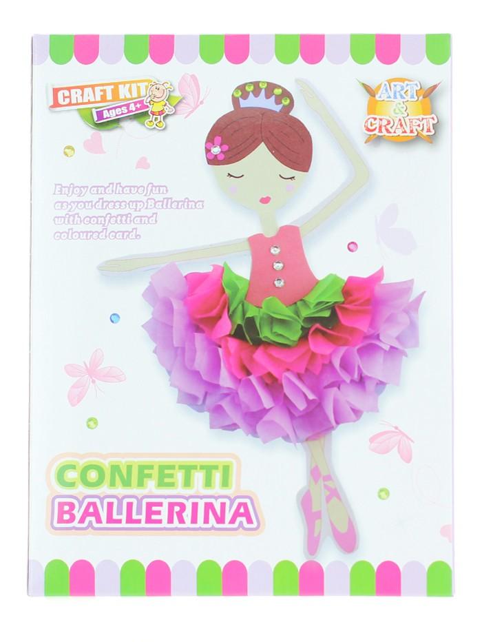 Jucarie Set creativ pentru copii Confetti Ballerina imagine produs