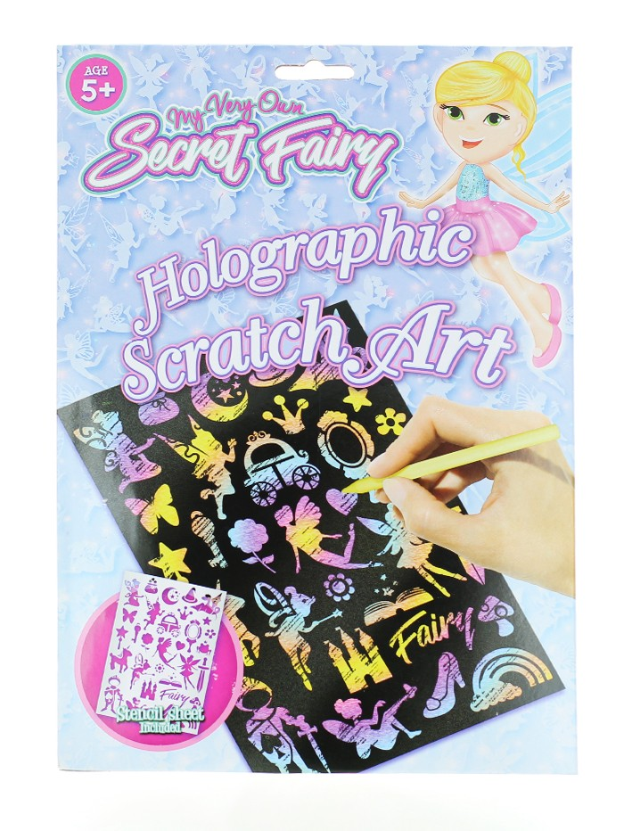 Jucarie Kit desen prin razuire Secret Fairy imagine produs