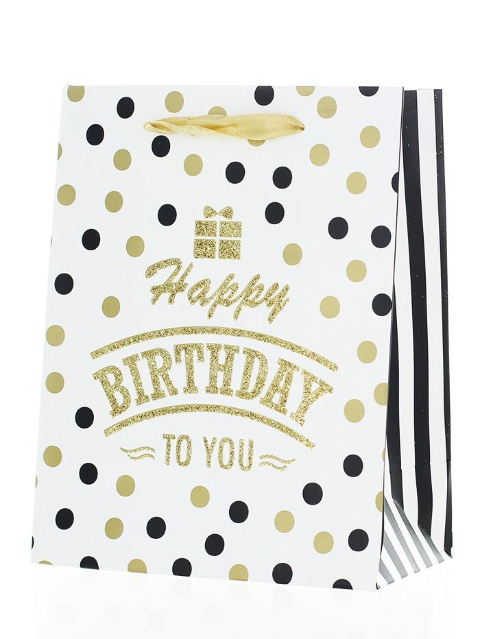 Sacosa Cadou 1 buc Happy Birthday imagine produs