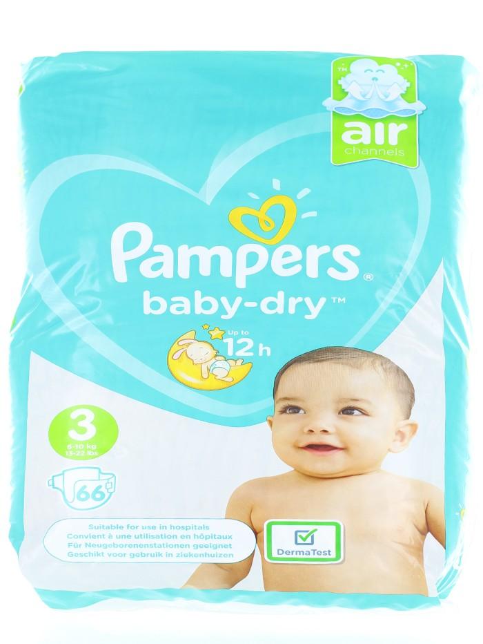 Pampers Scutece nr. 3 6-10 kg 66 buc Baby-Dry imagine produs