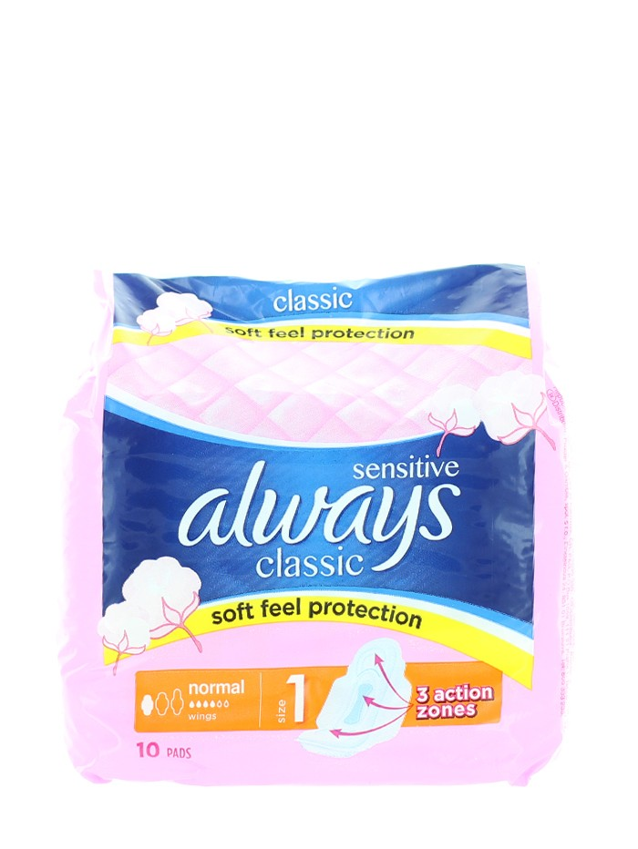 Always Absorbante 10 buc Classic Normal Sensitive S1 imagine produs