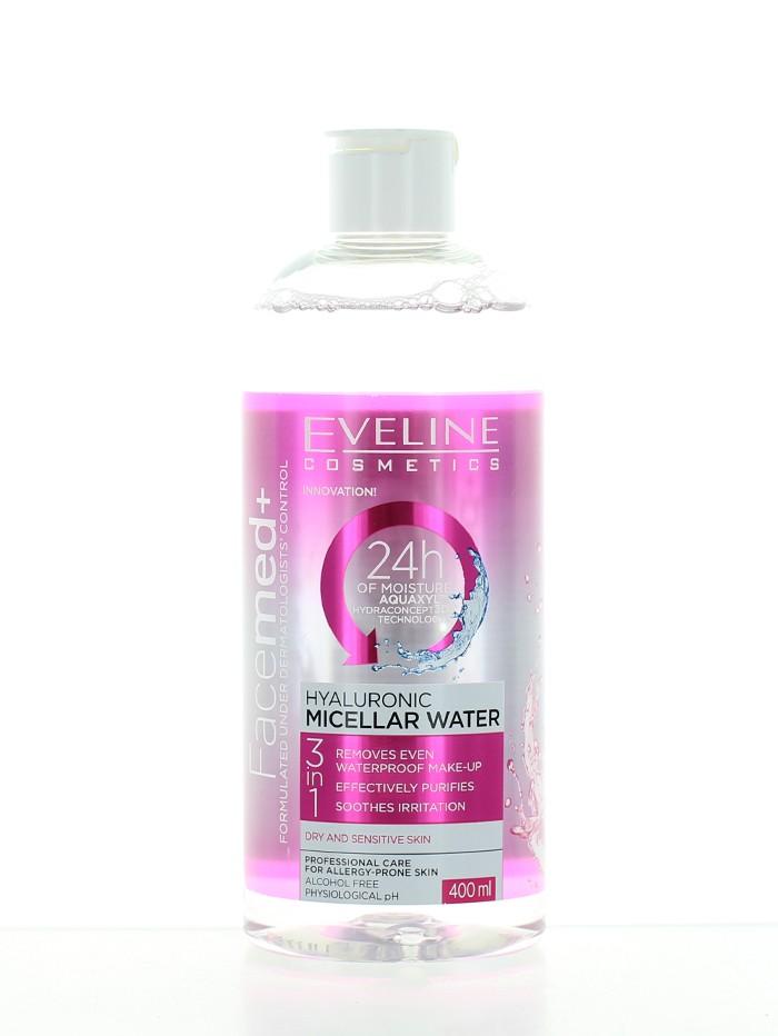 Eveline Apa micelara 400 ml Hyaluronic imagine produs