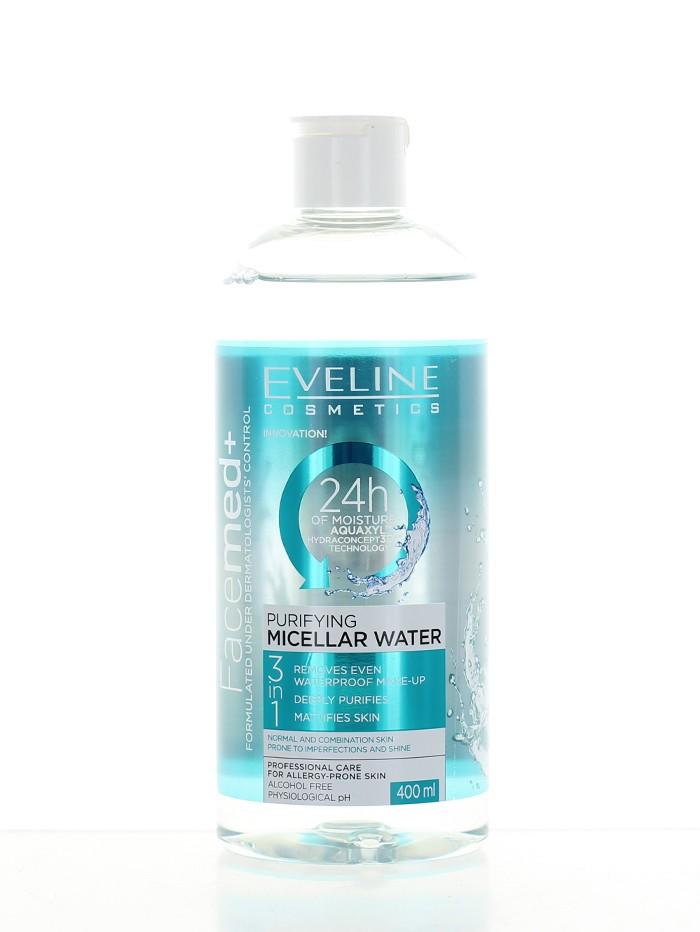 Eveline Apa micelara 400 ml Purifying imagine produs