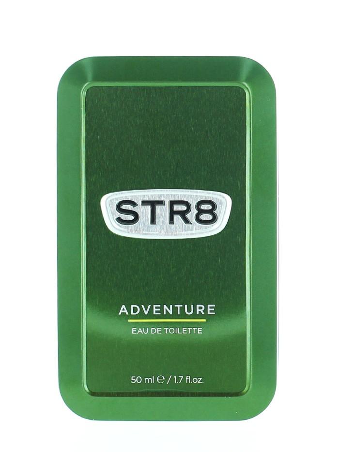 STR8 Parfum in cutie metalica 50 ml Adventure (Design Vechi) imagine