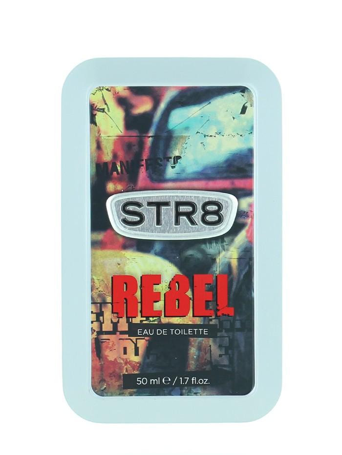 STR8 Parfum in cutie metalica 50 ml Rebel imagine