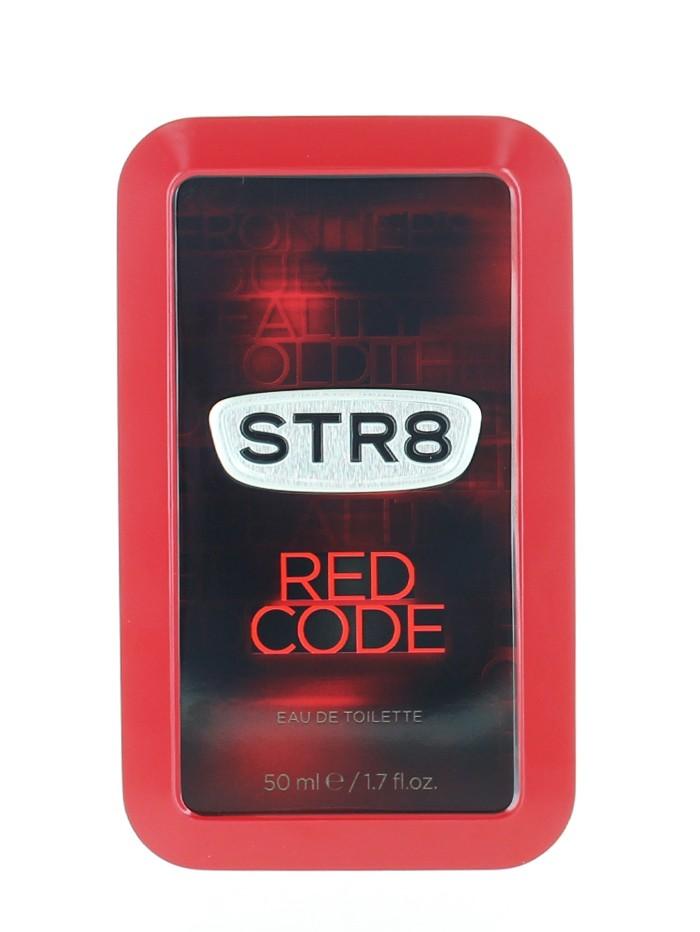 STR8 Parfum in cutie metalica 50 ml Red Code (Design Vechi) imagine