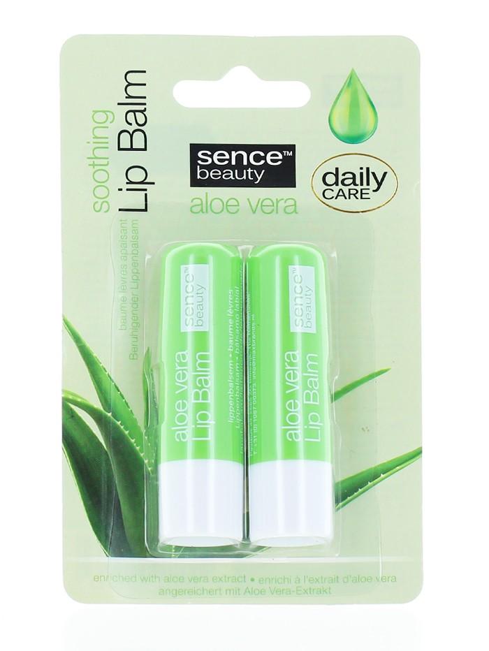 Sence Beauty Balsam de buze 2x4.3 g Aloe Vera imagine produs