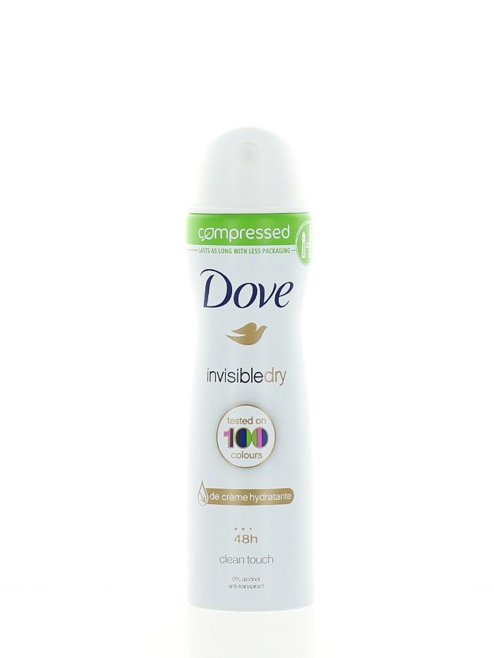 Dove Spray deodorant femei 75 ml(compresat) Invisibly Dry imagine produs
