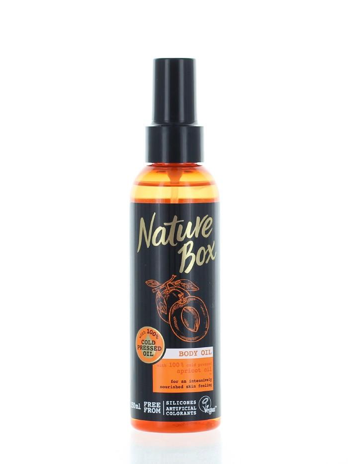 Nature Box Ulei de corp 150 ml Apricot imagine produs