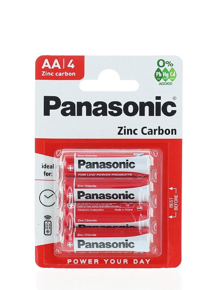 Panasonic Baterii R6 4 buc Zinc Carbon imagine produs