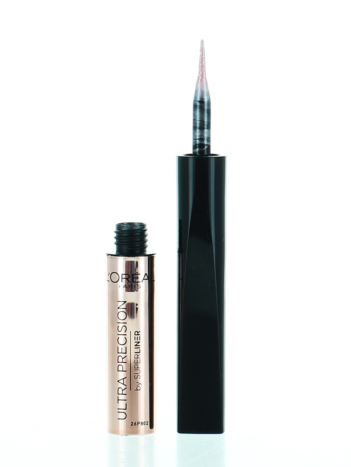 L'oreal Tus Pleoape Super Liner Ultra Precision Rose Gold imagine produs