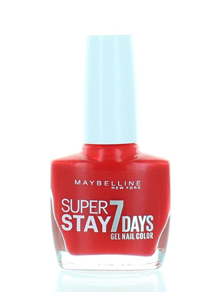 Maybelline Lac de unghii 10 ml Super Stay nr.917 Citrus Cherry imagine produs