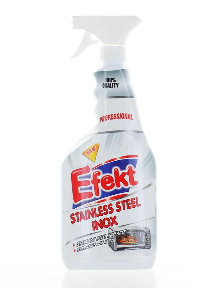 Efekt Solutie pentru suprafete din inox cu pompa 750 ml imagine produs