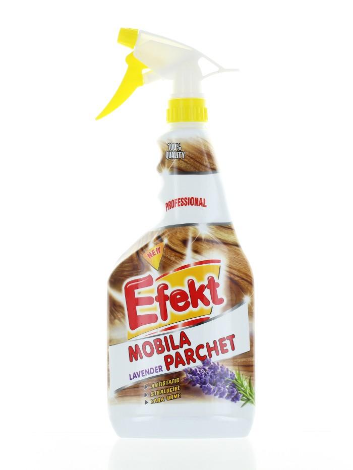 Efekt Solutie pentru lustruit mobila si parchet cu pompa 750 ml Lavender imagine produs