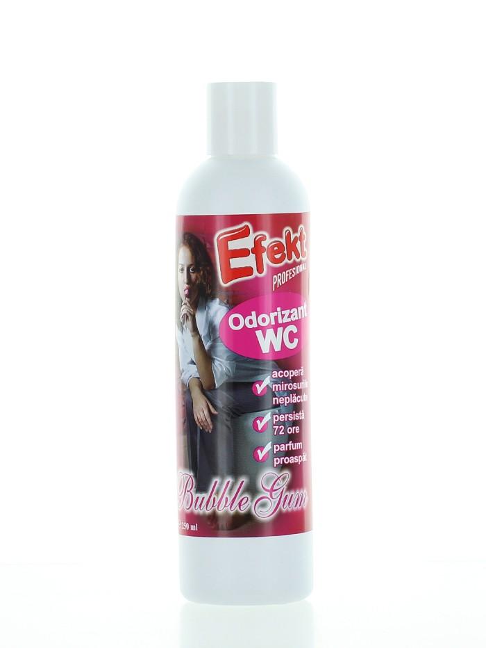 Efekt Odorizant lichid WC 250 ml Bubble Gum imagine produs