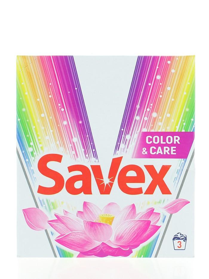 Savex Detergent automat 300 g in cutie Color&Care imagine produs