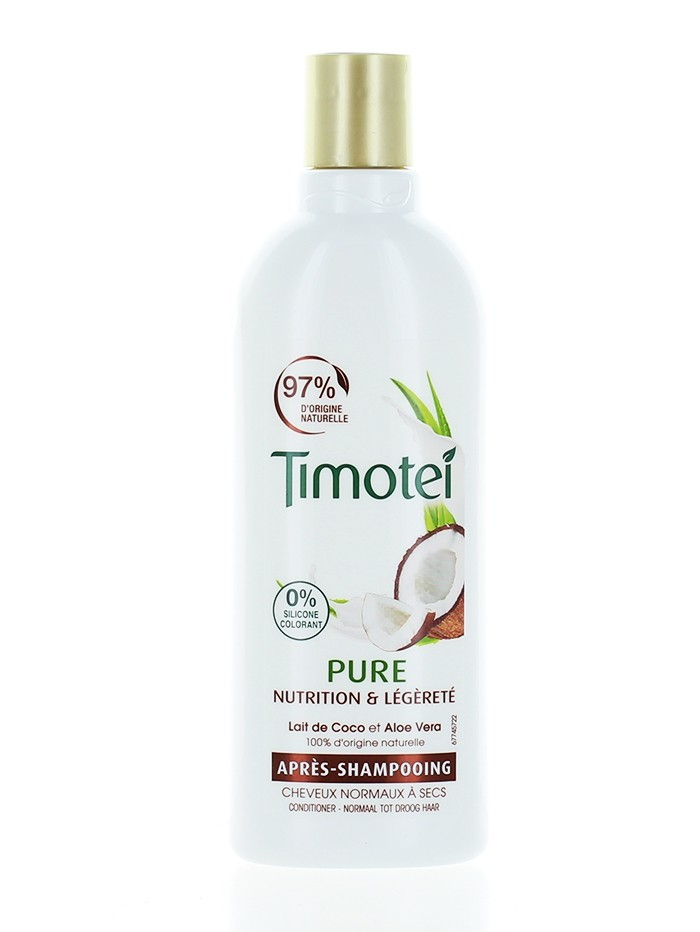Timotei Balsam de par 300 ml Pure Coconut imagine produs