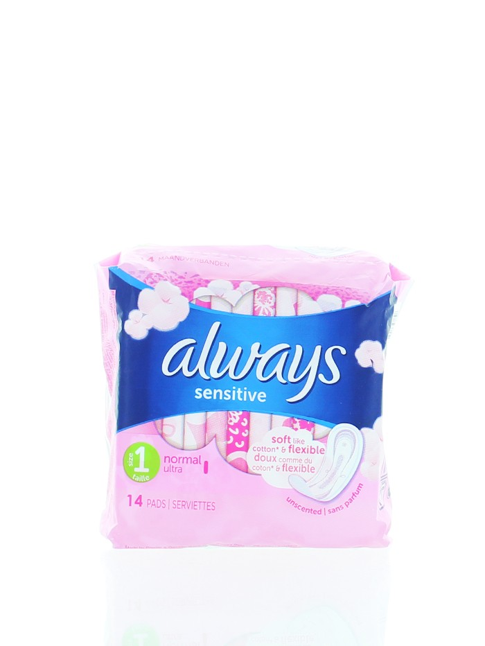 Always Absorbante 14 buc Sensitive Normal imagine produs