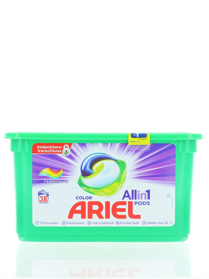 Ariel Detergent capsule 38 buc All in 1 Color imagine produs