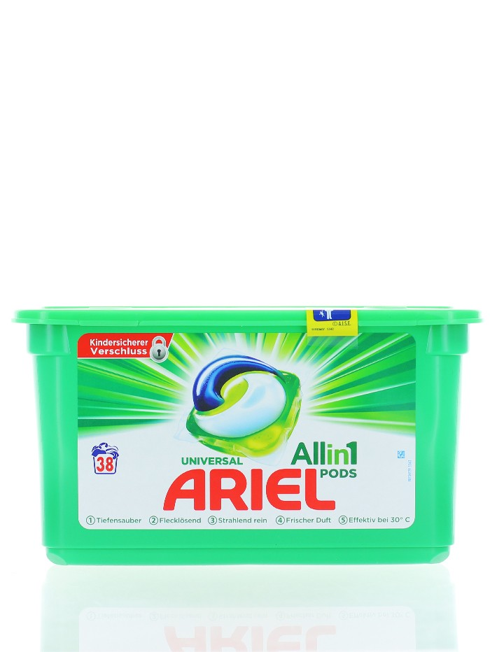 Ariel Detergent capsule 38 buc All in 1 Universal imagine produs