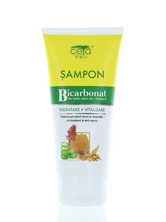 Ceta Sampon Hidratant Cu Bicarbonat 200 ml Biolipide, Miere, Aloe Si Vit. F (in tub) imagine produs