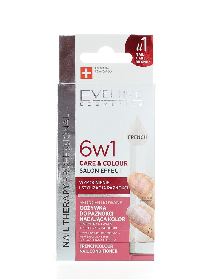 Eveline Tratament Unghii 12 ml French 6 in1 imagine produs