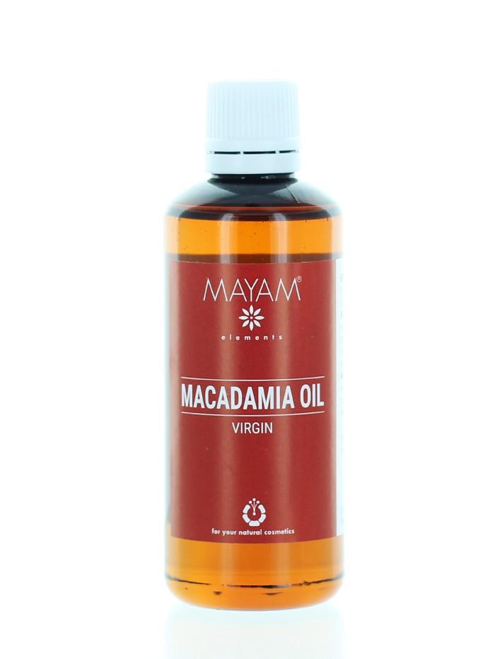 MAYAM Ulei de Macadamia 100 ml Virgin imagine produs