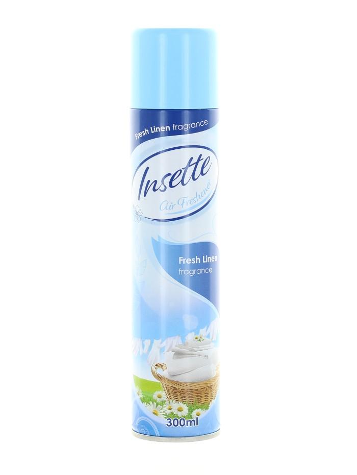 Insette Spray Odorizant camera 300 ml Fresh Linen imagine produs