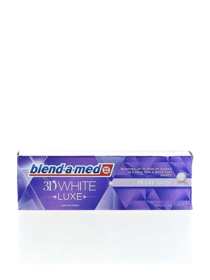 Blend-a-med Pasta de dinti 75 ml 3D White Luxe Pearl Glow imagine produs