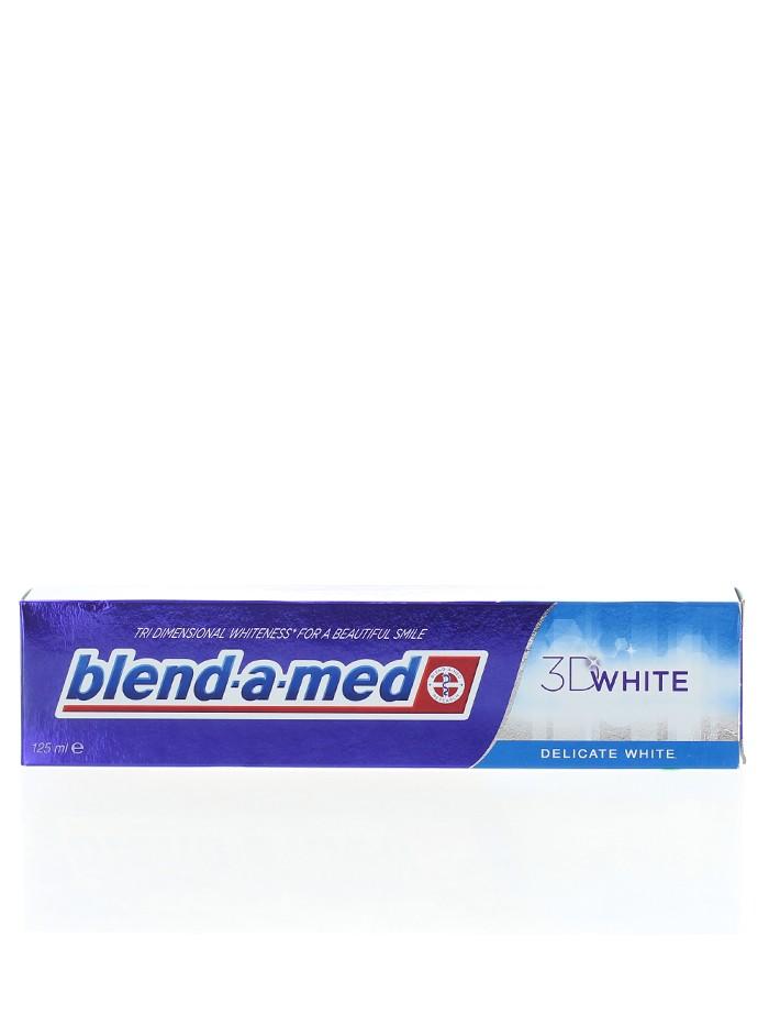 Blend-a-med Pasta de dinti 125 ml 3D White Delicate White imagine produs