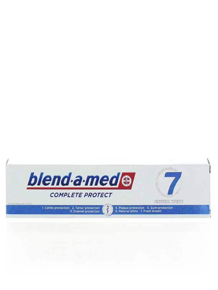 Blend-a-med Pasta de dinti 125 ml Complete Protect 7 Crystal White imagine produs
