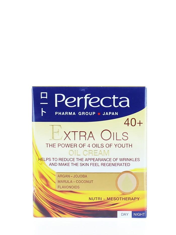 Perfecta Crema de fata 50 ml 40+ Extra Oils imagine produs
