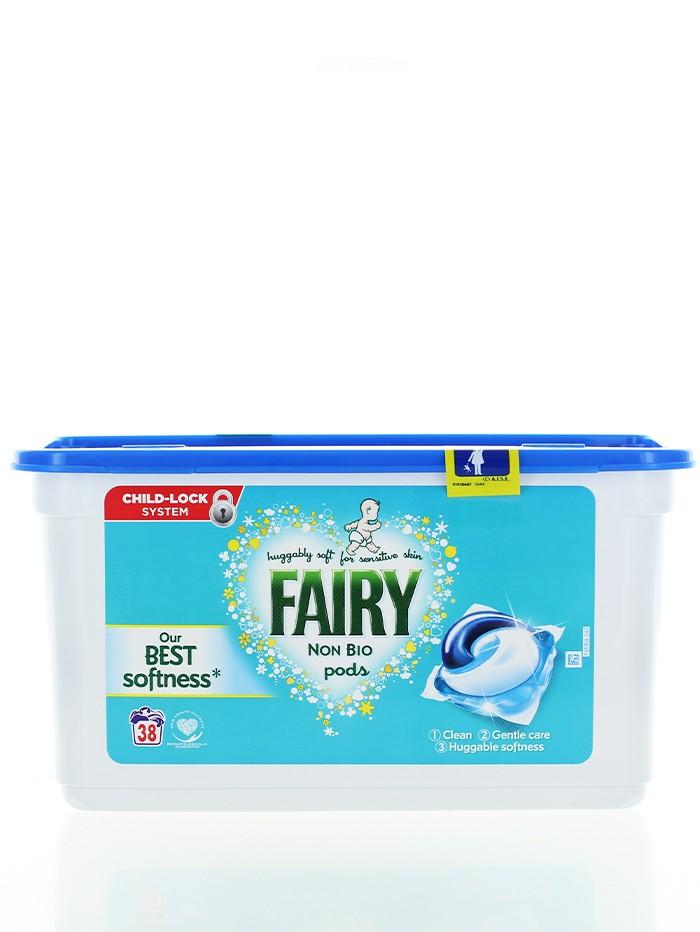 Fairy Detergent Capsule 38 buc Non Bio imagine produs