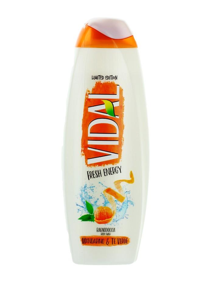 Vidal Gel de dus 500 ml Mandarino&Te Verde imagine produs