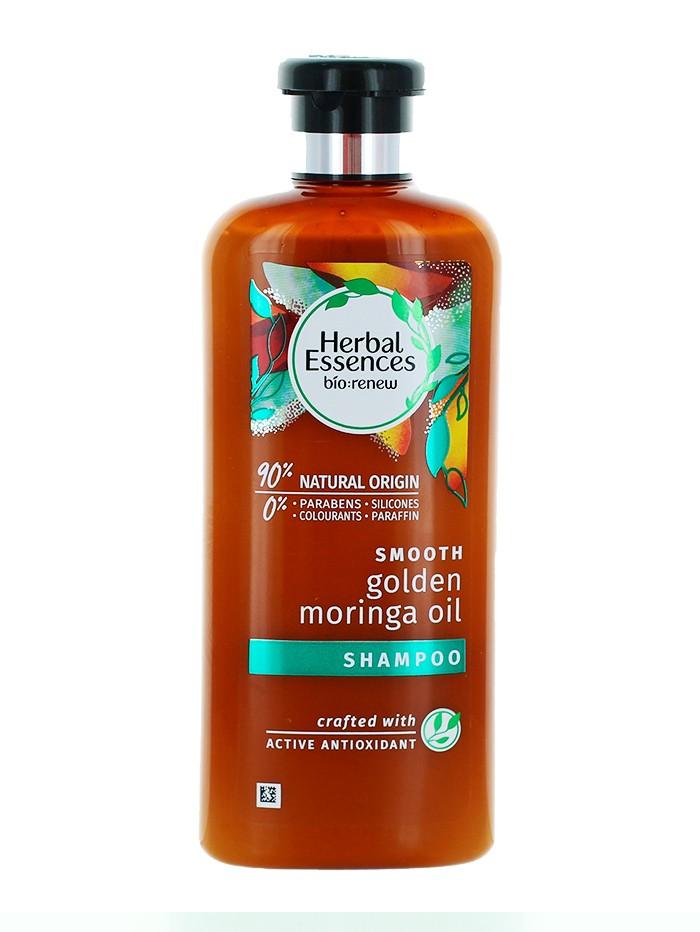 Herbal Essences Sampon 400 ml Bio Renew Golden Moringa imagine produs
