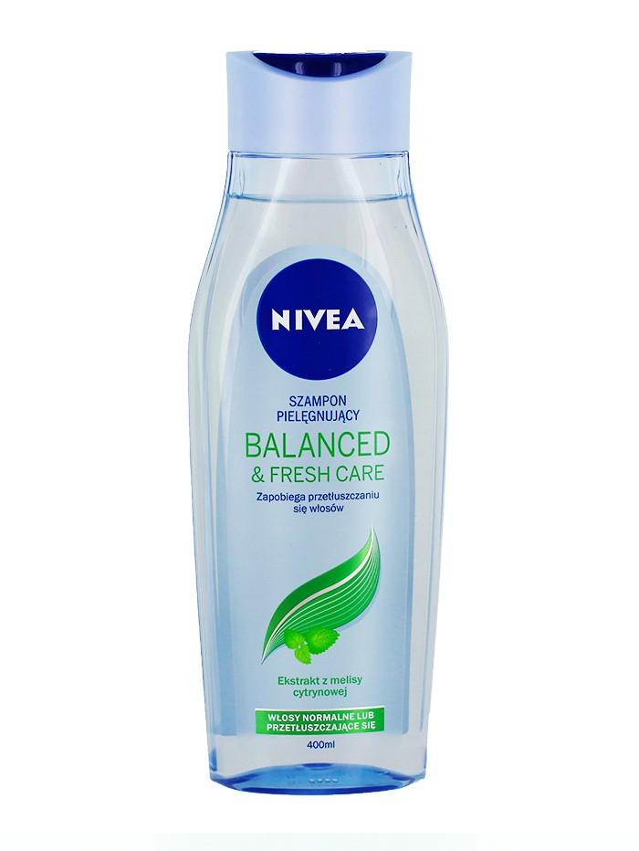 Nivea Sampon 400 ml Balanced & Fresh Care imagine produs
